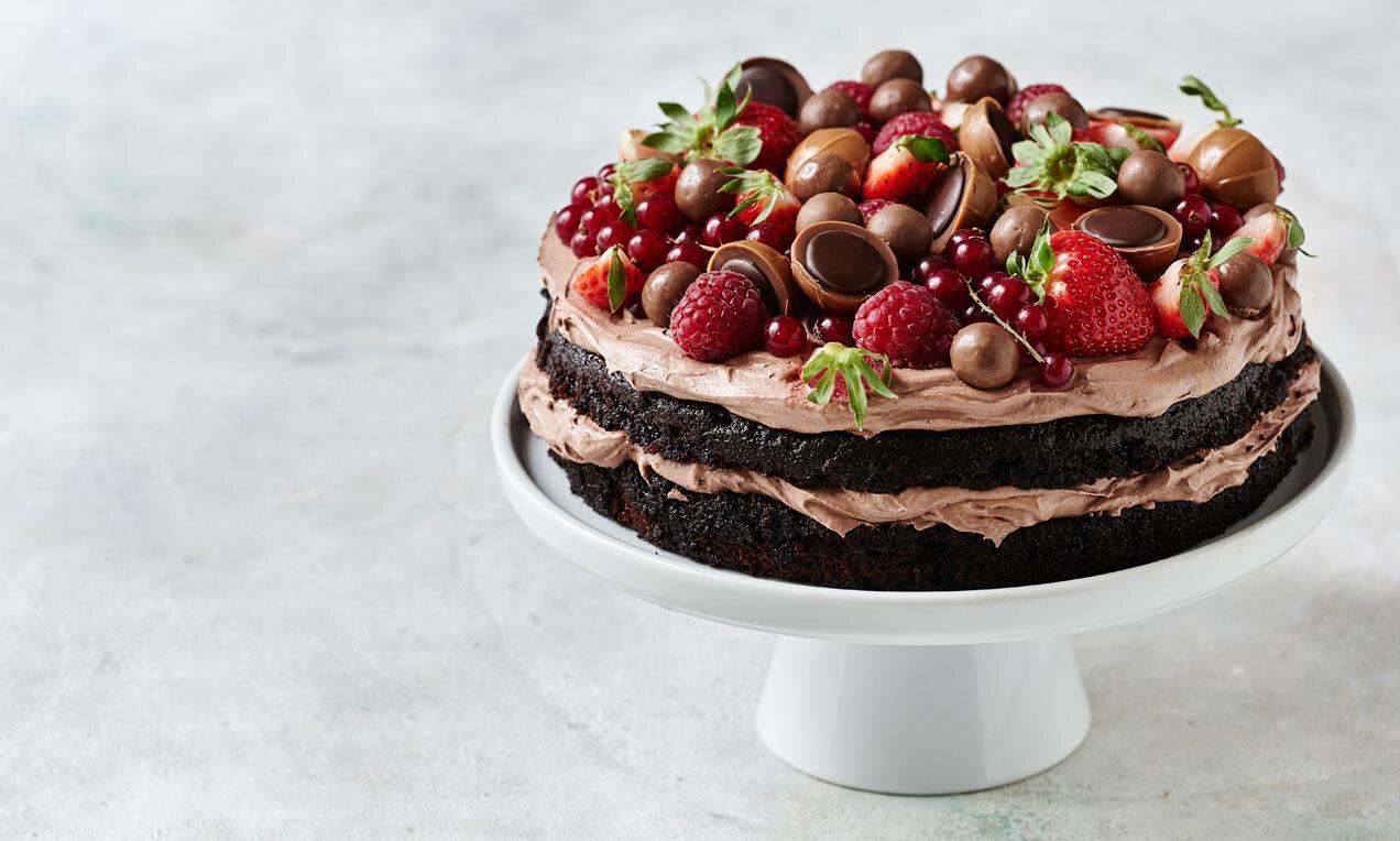 tårta recept choklad