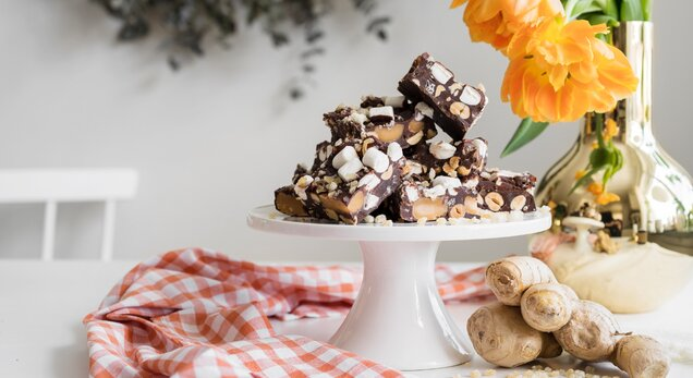Ginger Rocky Road